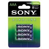 Pilha Alcalina Palito AAA Xtra Power 4 UN Sony
