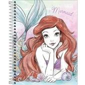 Caderno Colegial Capa Dura 80 FL Princesa Ariel B 1 UN Tilibra