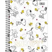 Caderno Colegial Capa Dura 80 FL Snoopy A 1 UN Tilibra