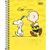 Caderno Colegial Capa Dura 80 FL Snoopy B 1 UN Tilibra