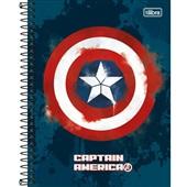 Caderno Colegial Capa Dura 80 FL Avengers Heros A 1 UN Tilibra