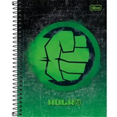 Caderno Colegial Capa Dura 80 FL Avengers Heros C 1 UN Tilibra