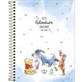 Caderno Colegial Capa Dura 10 Matérias 160 FL Pooh B 1 UN Tilibra