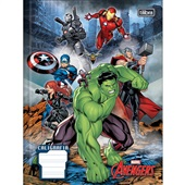 Caderno Pedagógico Caligrafia Capa Dura 40 FL Avengers A 1 UN Tilibra