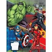 Caderno Pedagógico Caligrafia Capa Dura 40 FL Avengers B 1 UN Tilibra
