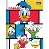 Caderno Pedagógico Quadriculado Capa Dura 40 FL Donald B 1 UN Tilibra