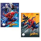 Caderno Pedagógico Quadriculado Capa Dura 40 FL Spider Man Sortido 1 UN Tilibra