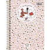 Caderno Espiral Capa Dura 1/4 80 FL Pooh B 1 UN Tilibra