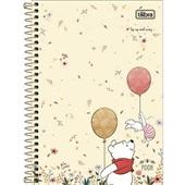 Caderno Espiral Capa Dura 1/4 80 FL Pooh D 1 UN Tilibra