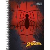 Caderno Espiral Capa Dura 1/4 80 FL Spider Man B 1 UN Tilibra