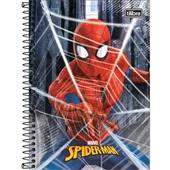 Caderno Espiral Capa Dura 1/4 80 FL Spider Man C 1 UN Tilibra