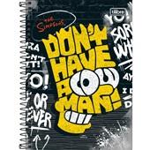 Caderno Espiral Capa Dura 1/4 80 FL The Simpsons A 1 UN Tilibra