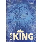 Caderno Brochura Capa Dura 1/4 80 FL O Rei Leão C 1 UN Tilibra
