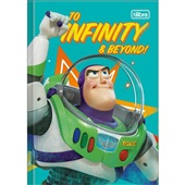 Caderno Brochura Capa Dura 1/4 80 FL Toy Story D 1 UN Tilibra