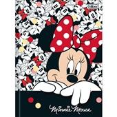 Caderno Brochura Capa Dura 1/4 80 FL Minnie D 1 UN Tilibra