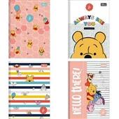 Caderno Brochura Capa Dura 1/4 80 FL Pooh Capas Sortidas 1 UN Tilibra
