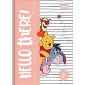 Caderno Brochura Capa Dura 1/4 80 FL Pooh C 1 UN Tilibra