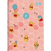 Caderno Brochura Capa Dura 1/4 80 FL Pooh D 1 UN Tilibra