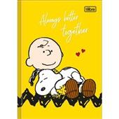 Caderno Brochura Capa Dura 1/4 80 FL Snoopy D 1 UN Tilibra