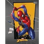 Caderno Brochura Capa Dura 1/4 80 FL Spider Man A 1 UN Tilibra