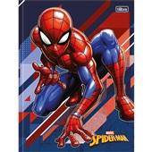 Caderno Brochura Capa Dura 1/4 80 FL Spider Man B 1 UN Tilibra