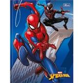 Caderno Brochura Capa Dura 1/4 80 FL Spider Man C 1 UN Tilibra