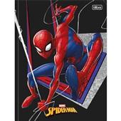 Caderno Brochura Capa Dura 1/4 80 FL Spider Man D 1 UN Tilibra
