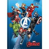 Caderno Brochura Capa Dura 1/4 80 FL Avengers Assemble C 1 UN Tilibra