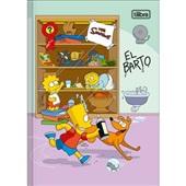 Caderno Brochura Capa Dura 1/4 80 FL Simpsons A 1 UN Tilibra