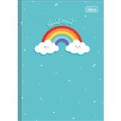 Caderno Brochura Capa Dura 1/4 80 FL Rainbow A 1 UN Tilibra