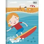 Caderno Brochura Capa Dura 1/4 96 FL Sapeca Masculina A 1 UN Tilibra