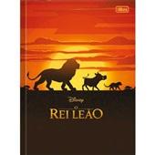 Caderno Brochurão Capa Dura Universitário 80 FL O Rei Leão Feminina A 1 UN Tilibra