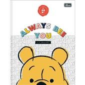 Caderno Brochurão Capa Dura Universitário 80 FL Pooh B 1 UN Tilibra