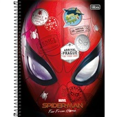 Caderno Universitário Capa Dura 80 FL Spider-Man A 1 UN Tilibra