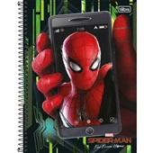 Caderno Universitário Capa Dura 80 FL Spider-Man D 1 UN Tilibra