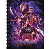 Caderno Universitário Capa Dura 80 FL Avengers Endgame A 1 UN Tilibra