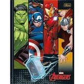 Caderno Brochurão Capa Dura Universitário 80 FL Avengers Assemble A 1 UN Tilibra