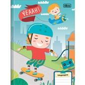 Caderno Brochura Capa Dura Sapeca B 40 FL 1 UN Tilibra