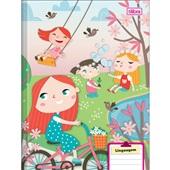 Caderno Brochura Capa Dura Sapeca C 40 FL 1 UN Tilibra