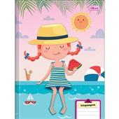 Caderno Brochura Capa Dura Sapeca D 40 FL 1 UN Tilibra