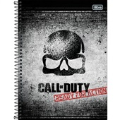 Caderno Universitário Capa Dura 80 FL Call Of Duty D 1 UN Tilibra