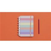 Caderno Inteligente Arco-íris Pastel 80F Pequeno 1 UN