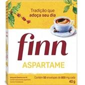 Adoçante em Pó Aspartame 0,8g Sachê CX 50 Finn
