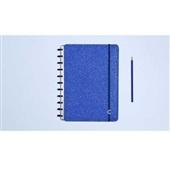 Caderno Inteligente Glitter Blue 80FL Grande 1 UN