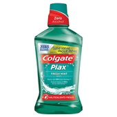 Enxaguante Bucal Plax Fresh Mint Leve 500ml Pague 350ml 1 UN Colgate
