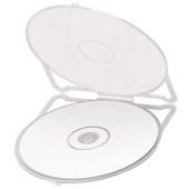Porta CD e DVD Branco 12 UN Waleu