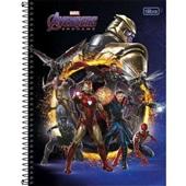 Caderno Universitário Capa Dura 160 FL Avengers Endgame D 1 UN Tilibra
