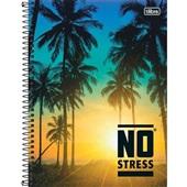 Caderno Universitário Capa Dura 160 FL No Stress A 1 UN Tilibra