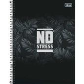Caderno Universitário Capa Dura 160 FL No Stress B 1 UN Tilibra
