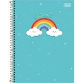 Caderno Universitário Capa Dura 160 FL Rainbow A 1 UN Tilibra